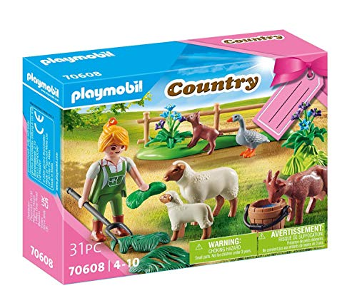 PLAYMOBIL Set de Regalo de Granja con Animales