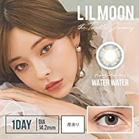 リルムーン ワンデー (LILMOON 1DAY) リルムーンワンデー ウォーターウォーター 10枚入 2箱セット -9.00