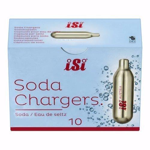 iSi Cartuchos de Soda a sifón (Paquete de 300)