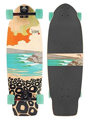 Skatesurfer ® Carving Skateboards von JUCKER HAWAII (JUCKER HAWAII Carving Skateboard Skatesurfer ® PONO)