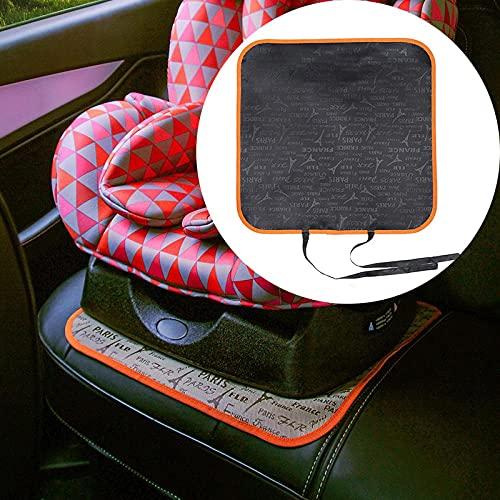 QXXKJDS Coprisedile auto Oxford PU pelle di protezione per sedile auto tappetini tappetini per bambini protezione cuscino auto Decor (colore : 45x45 cm)