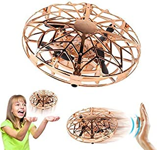YORKOO Toys for 4-10 Year Old Boys Mini Drone for Kids Flying Ball Air Magic UFO Hand Controlled RC Helicopter Rotating Bo...