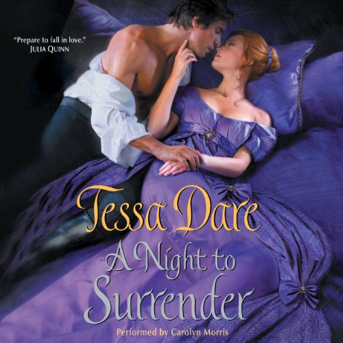 A Night to Surrender audiobook cover art
