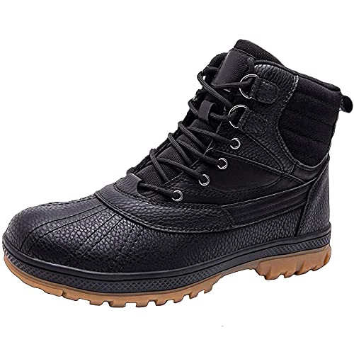 Military Boots for Men, MJH-01 Mens Combat Military Safety Shoes Waterproof Army Patrol Outdoor Camping Hiking Desert Combat Boot High-Top Lace-up Lightweight Breathable Work Shoes