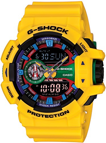 『[カシオ] 腕時計 ジーショック Hyper Colors GA-400-9AJF イエロー』のトップ画像