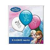Lot de 8 ballons Disney Frozen La Reine des Neiges Décoration anniversaire fête Anna Elsa Olaf