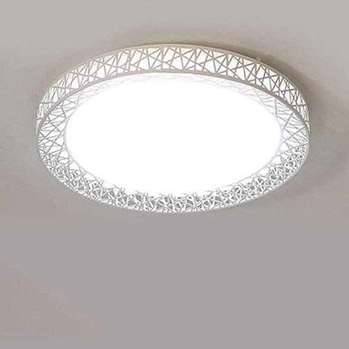 JIUHommesG LED Plafonnier Salle bains Blanc Lampe Moderne pour Chambre Couloir Salon Balcon Eclairage Intérieur Plafonnier,Lampe plafond, 48W