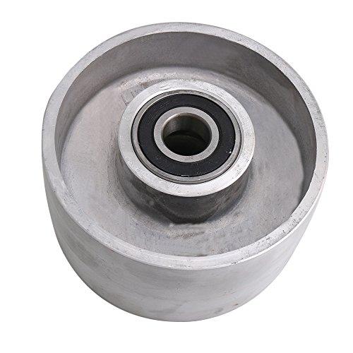 CNBTR 125mm Dia 150 Grit Plain Resin Diamond Grinding Wheel Replacement Carbide