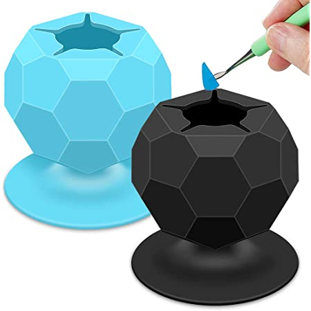 Silhouette Vinyl and HTV Crafters Lettering Welders Black Suctioned Vinyl Weeding Scrap Collector Star-Shaped Opening with Suction Cup Soft Silicone Weeding Scrap Collector for Crafters