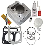 CYLINDER PISTON RINGS TOP END SET KIT FITS YAMAHA TTR 125 TTR125 TTR-125 2000 2001 2002 2003 2004