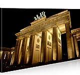 islandburner Bild Bilder auf Leinwand Brandenburger Tor