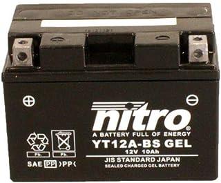 Batterie 12V 10AH YT12A BS Gel Nitro 51013 790 Duke ABS 18 19