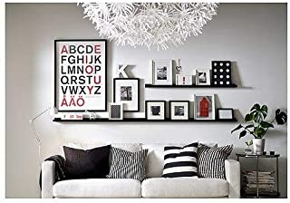 Modern Picture or Frame Floating Ledge 21 3/4 , Black 2 Pack by IKEA