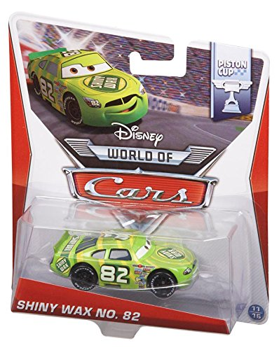 Disney Pixar Cars SHINY WAX # 82 (Piston Cup Series #11 of 16) - Voiture Miniature Echelle 1:55