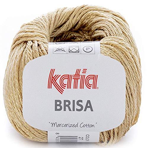 Lanas Katia Brisa Ovillo de Color Dorado Cod. 27