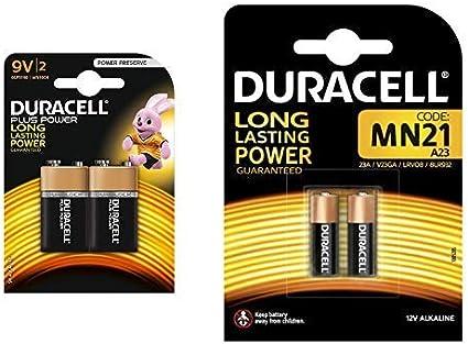 Duracell Plus Power Type 9v Alkaline Batteries Pack Of Elektronik