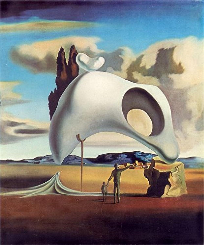 Atavistic Vestiges After the Rain 1934 Salvador Dali  Poster Canvas Picture Art Print Premium Quality A0 A1 A2 A3 A4 (A0 Canvas (30 40))