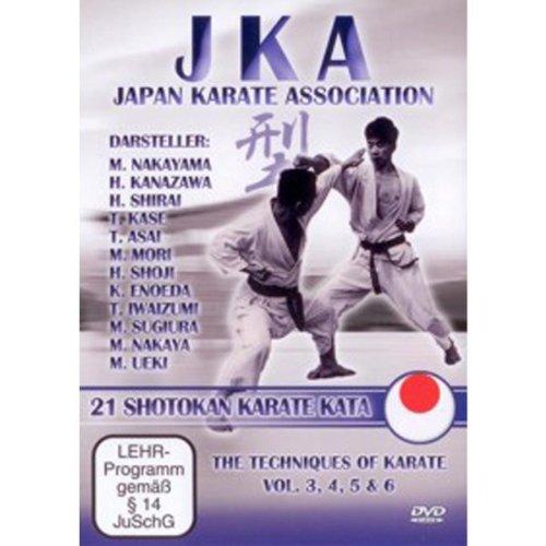 JKA Japan Karate Association - 21 Shotokan Kata