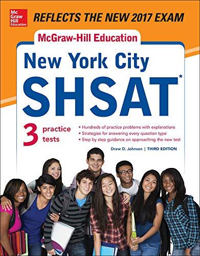 McGraw-Hill Education New York City SHSAT, Third Edition