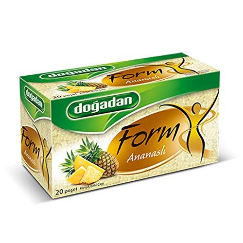 Dogadan Premium Form Mixed Herbal Tea with Pineapple (1 Box / 20teabags)