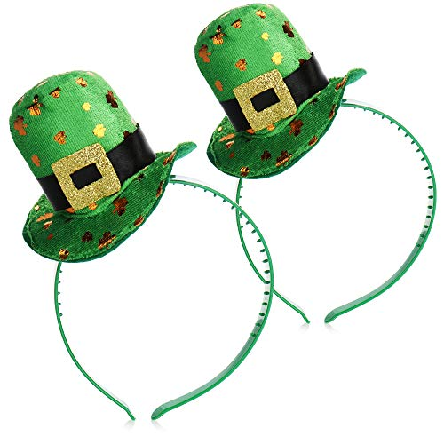 com-four Leprechaun, Disfraces de Kobold Da de San Patricio - atuendos Accesorios Festival, irlands - Mardi Gras, Shrovetide, Carnival, Parade, Motto Party, Irish Pub (02 Piezas - Set13)