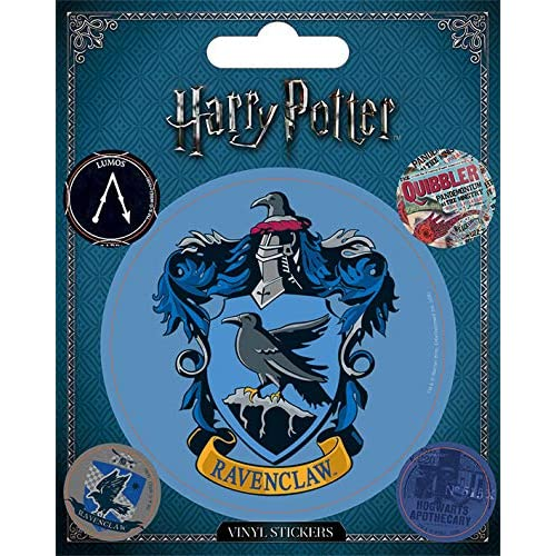 Wizarding World Harry potter-ravenclaw sticker in vinile, multicolore, 10 x 12.5 cm