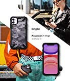 Ringke Fusion-X DDP Diseñado para Funda Apple iPhone 11, Transparente al Dorso Carcasa iPhone 11 6.1