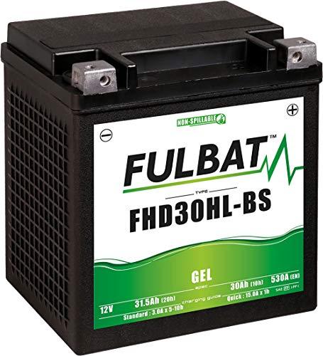 Fulbat - Batería moto Gel FHD30HL-BS/ETX30L 12V 30Ah ✅