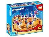 Playmobil - 4234 - Voltigeurs + Chevaux et Manege