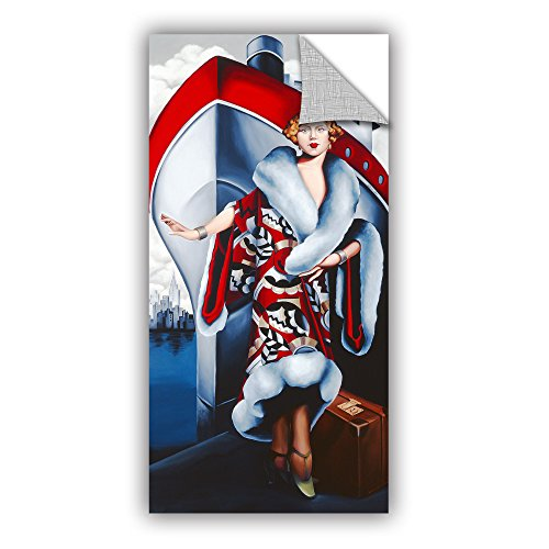 Tremont Hill Catherine ABEL ''Bon Voyage'' Removable Wall Art Mural, 12X24