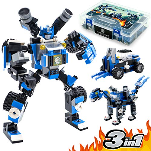 JITTERYGIT Robot STEM Toy Figure | 3 in...