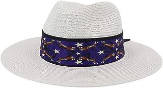 SHENTIANWEI Fashion Women Summer Straw Sun Hat Elegant Queen Beach Hat Chapeu Feminino Striped Floral Satin Beach Hat Fedora Hat