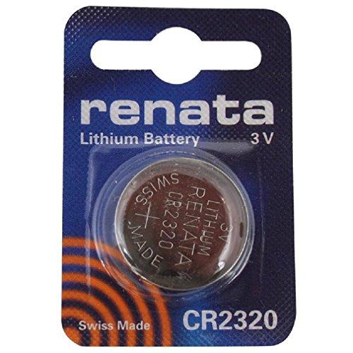 CR2320 Batteria Pulsante / Litio 3V / per Orologi, Torce, Chiavi della Macchina, Calcolatrici, Macchine Fotografiche, etc / iCHOOSE