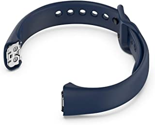 JKoYu Watch Accessories for Silicone Replacement Watch Band Adjustable Strap for Samsung Galaxy Fit SM-R370 - Midnight Blue