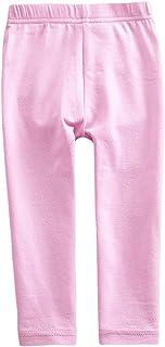 JUXINSU Toddler Cotton Girls Long Pants Leggings Rainbow Striped Casual Pants for Spring Summer 1-8 Years