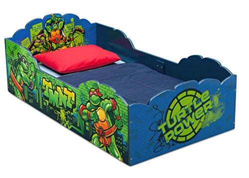 Delta Children Wood Toddler Bed, Nickelodeon Teenage Mutant...