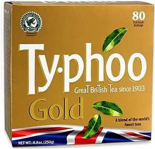 Typhoo Tea (Gold 80ct Foil fresh, Pack 1) …