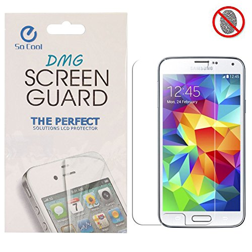 DMG SoCool Screen Protector for Samsung Galaxy S5 Mini G800 (Pack of 2 Matte Anti Glare Anti Fingerprint Scratch Guard)