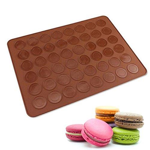 FEIYI Bakeware & Accessories Silikon-Backform für Macarons, Kuchen, Kekse, Schokolade, Backwerkzeug