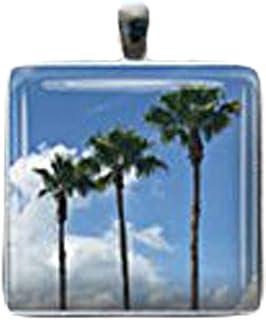Collier Heng-Yuan tian cheng palmier collier plage collier art collier déclaration collier collier collier personnalisé