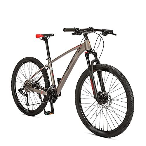 BMDHA Luces Bicicleta,Bicicleta De montaha 29 Pulgadas 33 Velocidades, Bicicleta Freno De Disco De Aceite Doble Marco De AleacióN De Aluminio Bicicleta Montana Adulto