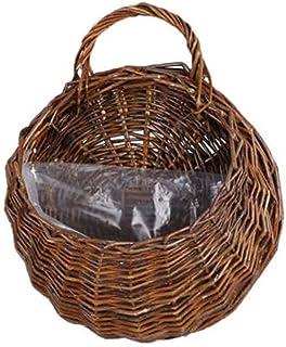 Panier de Rangement Blanc en Plastique épaissir Les paniers de tri avec poignée en Bois Organisateur de Jouets pour Enfant...