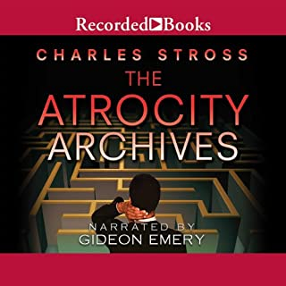The Atrocity Archives     A Laundry Files Novel              By:                                                                                                                                 Charles Stross                               Narrated by:                                                                                                                                 Gideon Emery                      Length: 10 hrs and 56 mins     2,257 ratings     Overall 4.1