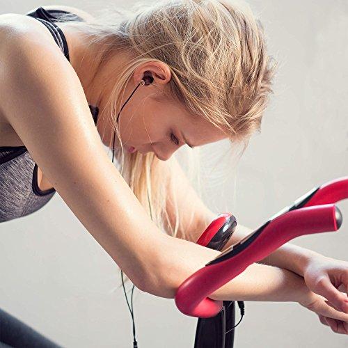 tectake Velo D Appartement Pliable ELLIPTIQUE ERGOMETRE Fitness Cardio Gym + Ordinateur LCD