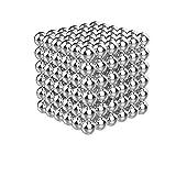 OBEST マグネットボール 脳開発知恵玩具 216個セット﹙5mm﹚ (球型シルバー)