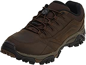 Merrell Men's Moab Adventure Stretch Hiking Shoe, Dark Earth, 10.5 Medium US