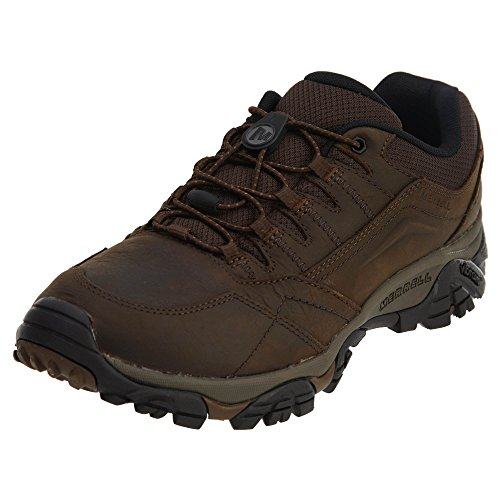 Merrell Men's Moab Adventure Stretch Hiking Shoe, Dark Earth, 9.5 Medium US