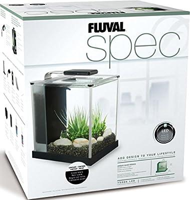 Fluval Spec III Aquarium Kit, 2.6-Gallon, Black (10515A1)