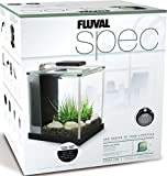 Fluval SPEC III Aquarium Kit, Aquarium with LED Lighting and 3-Stage Filtration System, 2.6 Gallon, Black, 10515A1