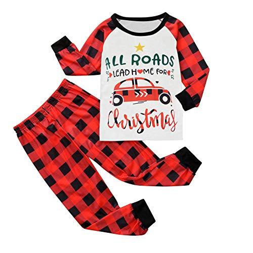 Dasongff Weihnachten Familie Pyjamas Outfit Schlafanzug Nachtwäsche Damen Herren...